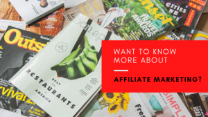 Want To Know More About Affiliate Marketing? You need to know the ins and outs and how you can go for the gold in affiliate marketing. It will take quite a bit of effort to make excellent profits with affiliate marketing.