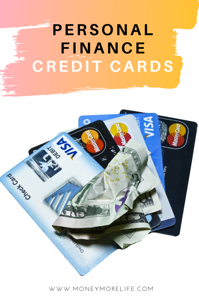 Personal finance credit cards