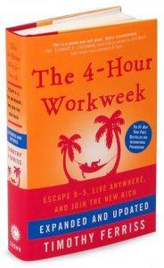 The 4-Hour Workweek & personal development.