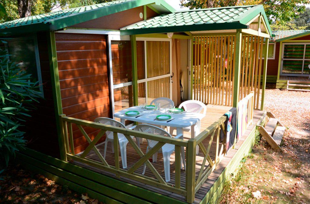 garden into a campsite