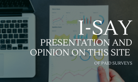I-Say: Presentation and opinion on this site of paid surveys